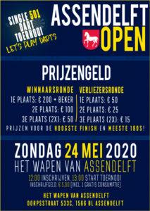 Assendelft Open - Single 501 darttoernooi